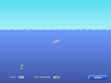 Dolphin olympics 2 flash spēle