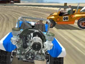 Beach racer flash spēle
