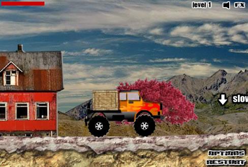 Truck mania flash spēle