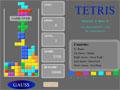 Tetris flash spēle