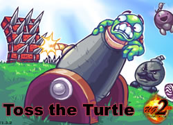 Toss the turtle flash spēle