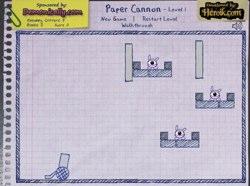 Paper cannon flash spēle