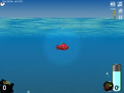 Deep sea diver flash spēle