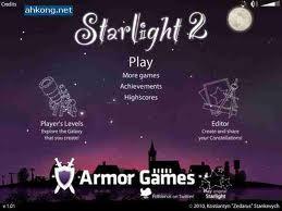 Starlight 2 flash spēle