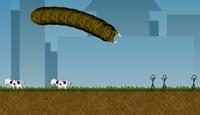 Effing Worms  flash spēle