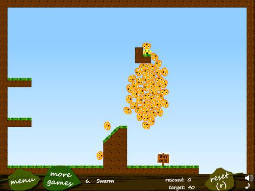 Meeblings 2 flash spēle