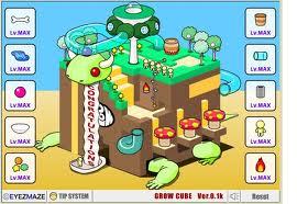 Grow cube flash spēle