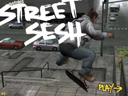 Street sesh flash spēle
