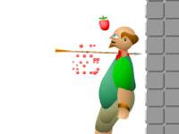 Apple shooter flash spēle